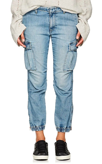 French Military Cargo Jeans