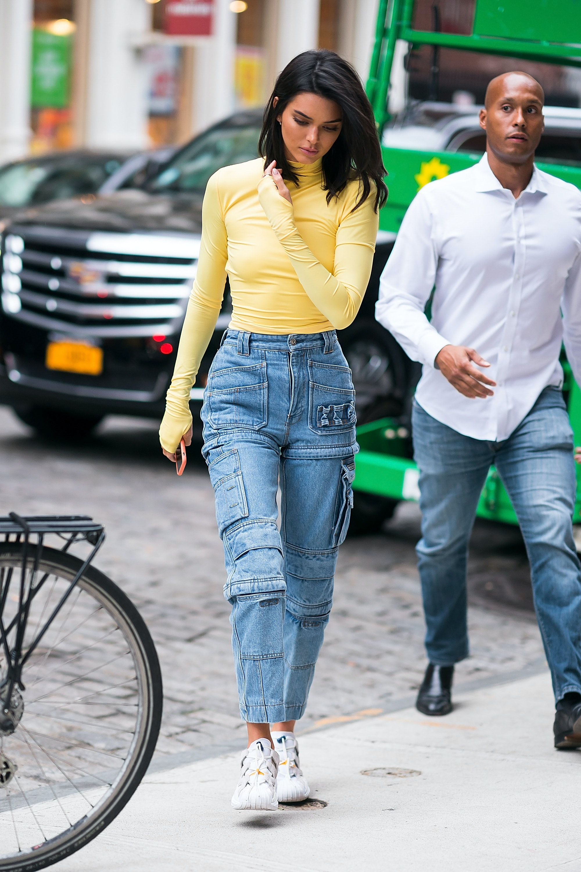 Kendall Jenner's Zip-Off Jeans Are Very