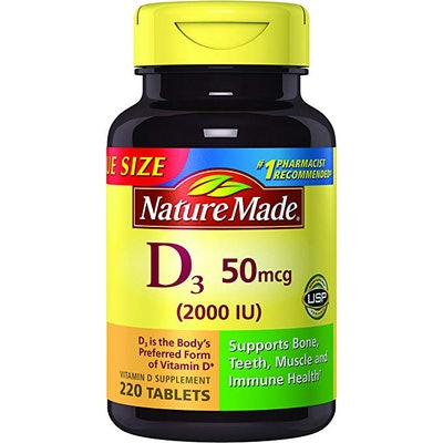 Nature Made Vitamin D3, 220-Count