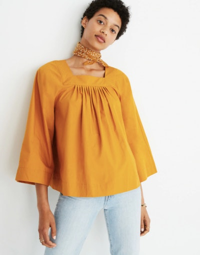 Square-Neck Top