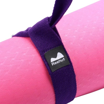 Reehut Adjustable Cotton Yoga Mat Strap