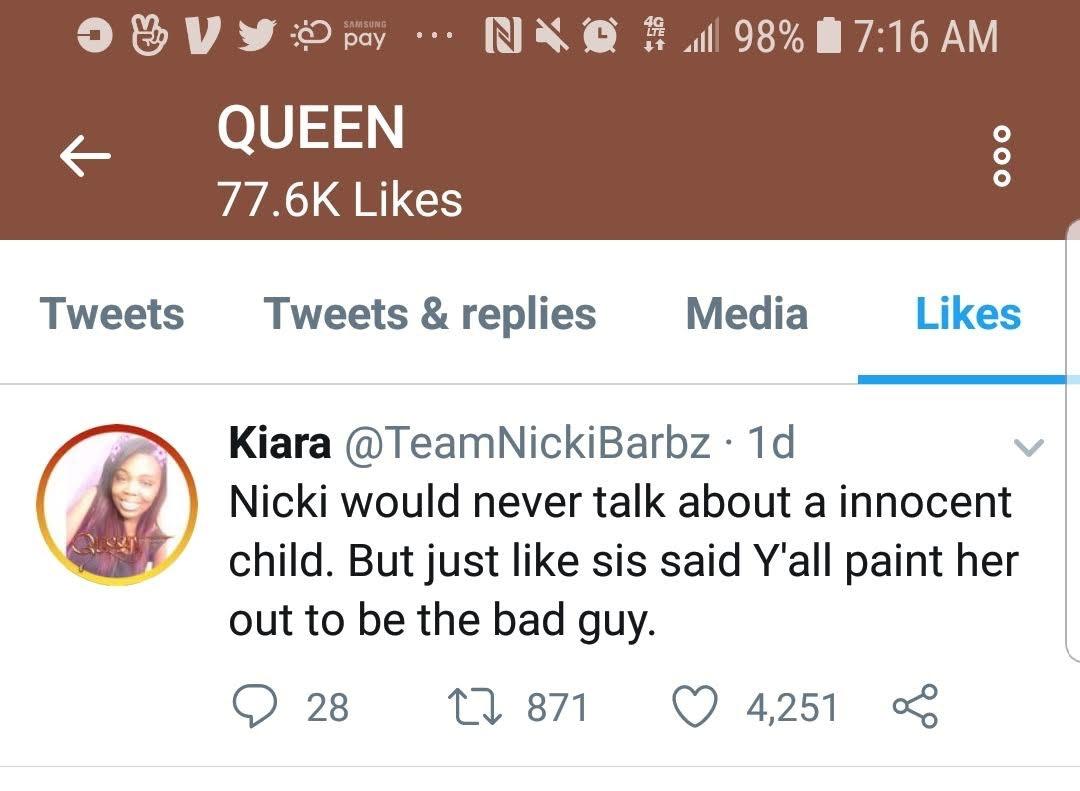 Nicki Minaj S Response To Cardi B Their Reported Fight Is Hidden