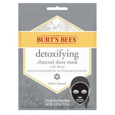 Burt's Bees Detoxifying Charcoal Sheet Mask