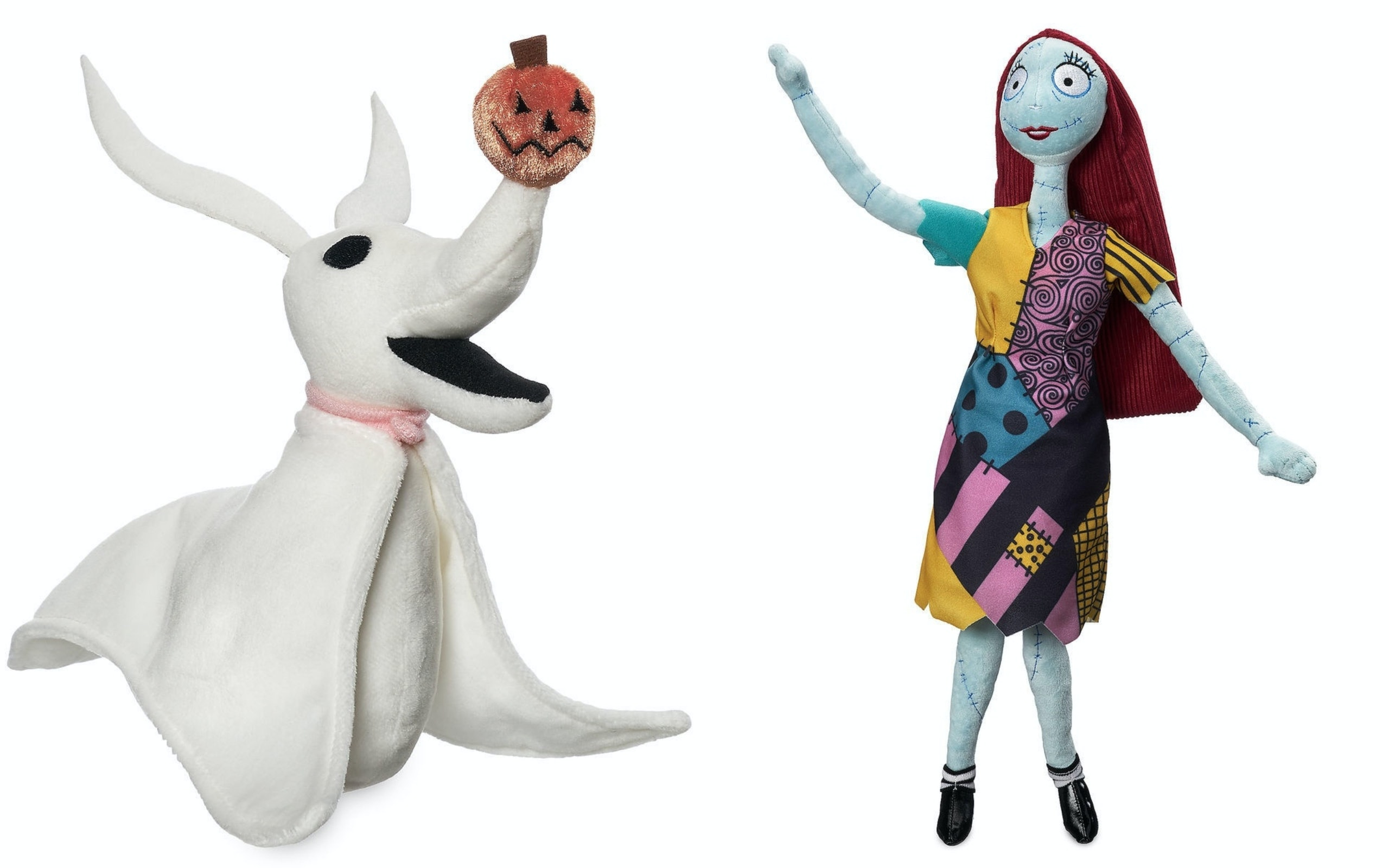 The Nightmare Before Christmas\' Plush Dolls At The Disney Store Are ...