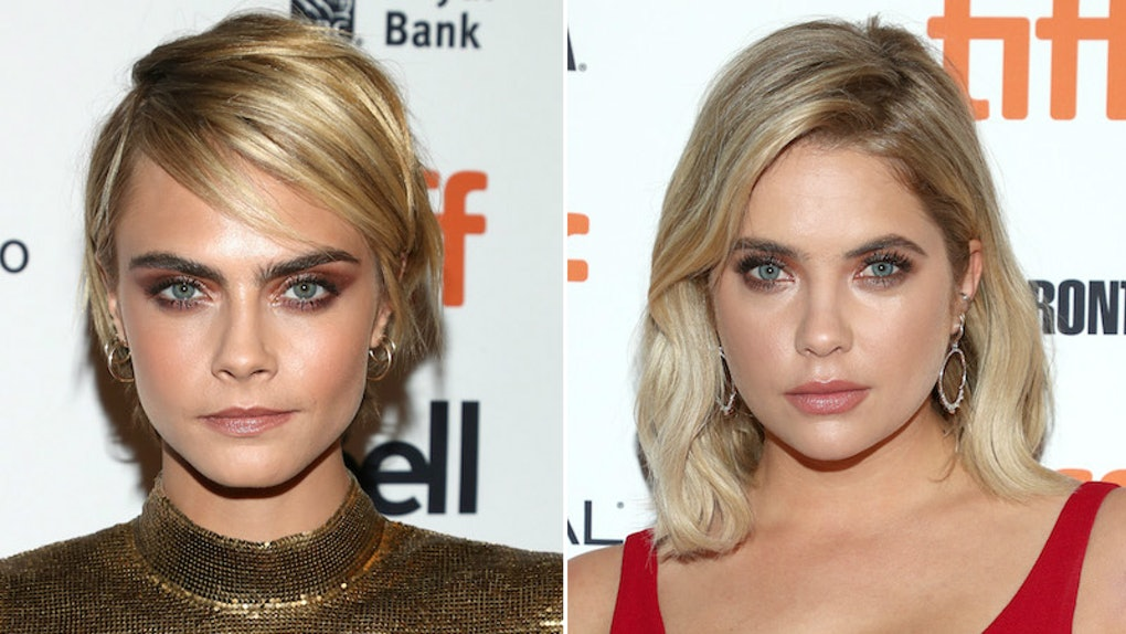 24766a2e60a The Photos Of Cara Delevingne   Ashley Benson At TIFF Show They re On The Same  Wavelength