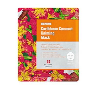 Leaders Cosmetics 7 Wonders Caribbean Coconut Calming Mask