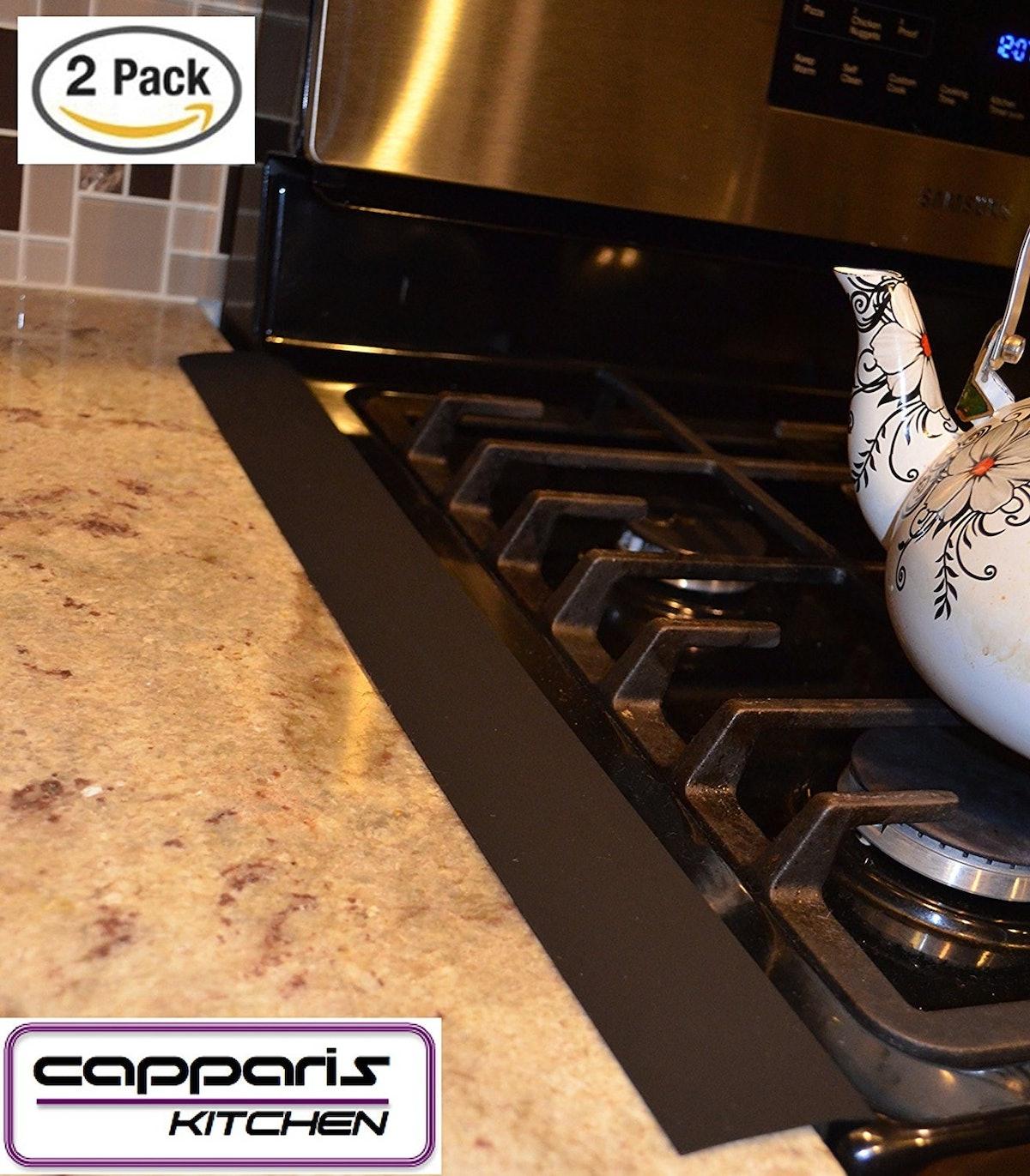 Capparis Kitchen Silicone Stove Counter Gap Cover