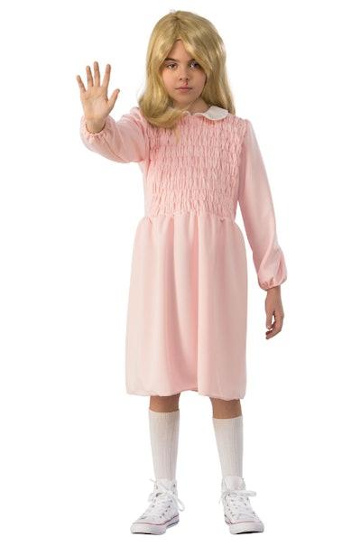 Eleven Long Sleeve Dress Stranger Things Child Costume