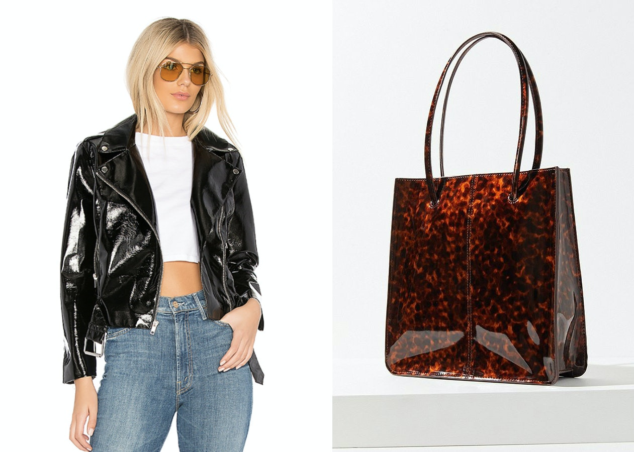 Patent Leather Shoes, Skirts, Jackets, & More That'll Help