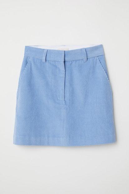 Short Corduroy Skirt