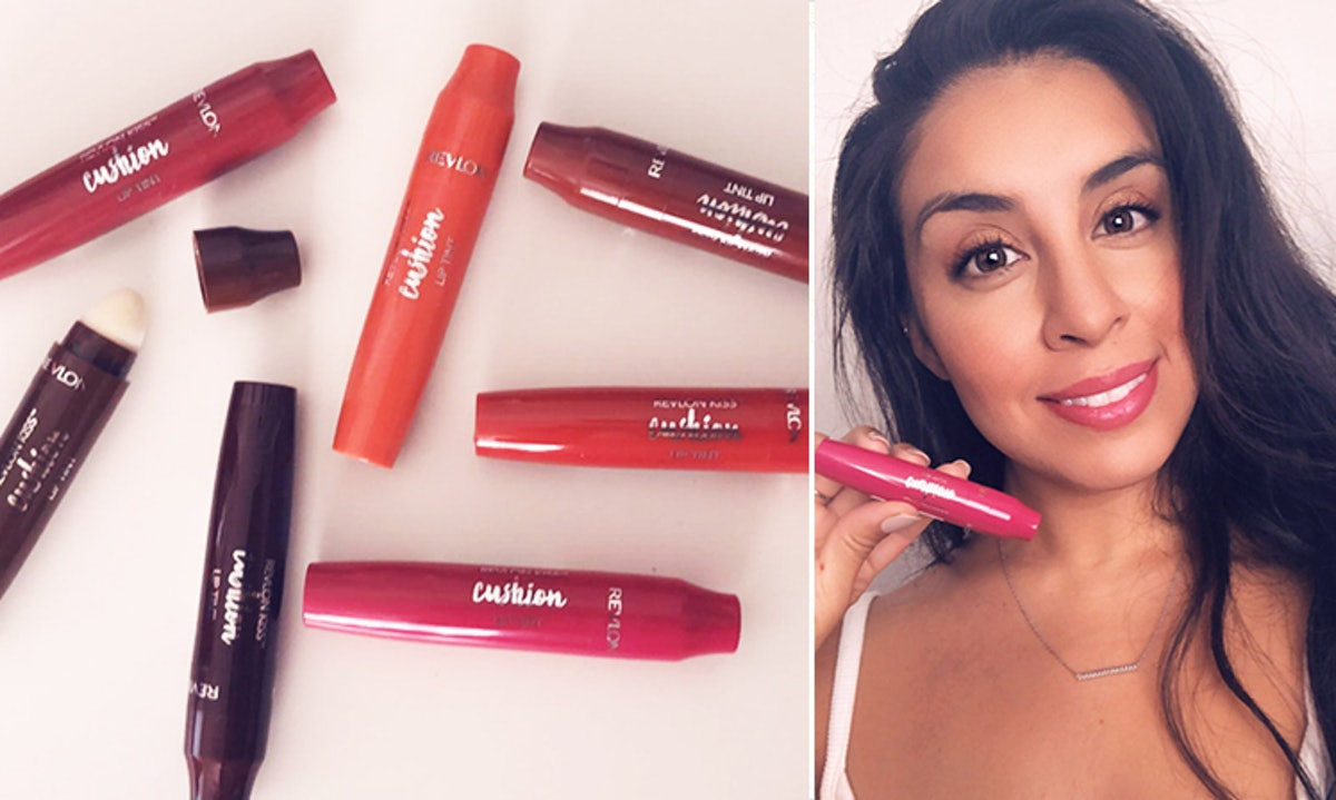 This Revlon Cushion Lip Tint Review Proves You Don't Have To Live With Chapped Lips