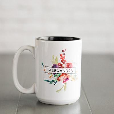 Personalized Alexandra 11oz. Coffee Mug
