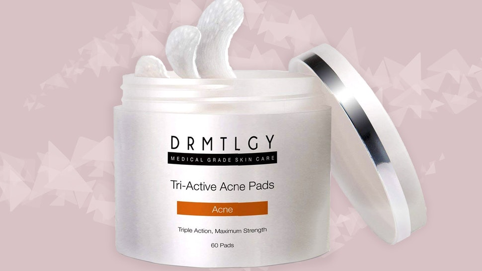 what are acne pads