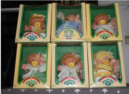 Coleco Cabbage Patch Dolls