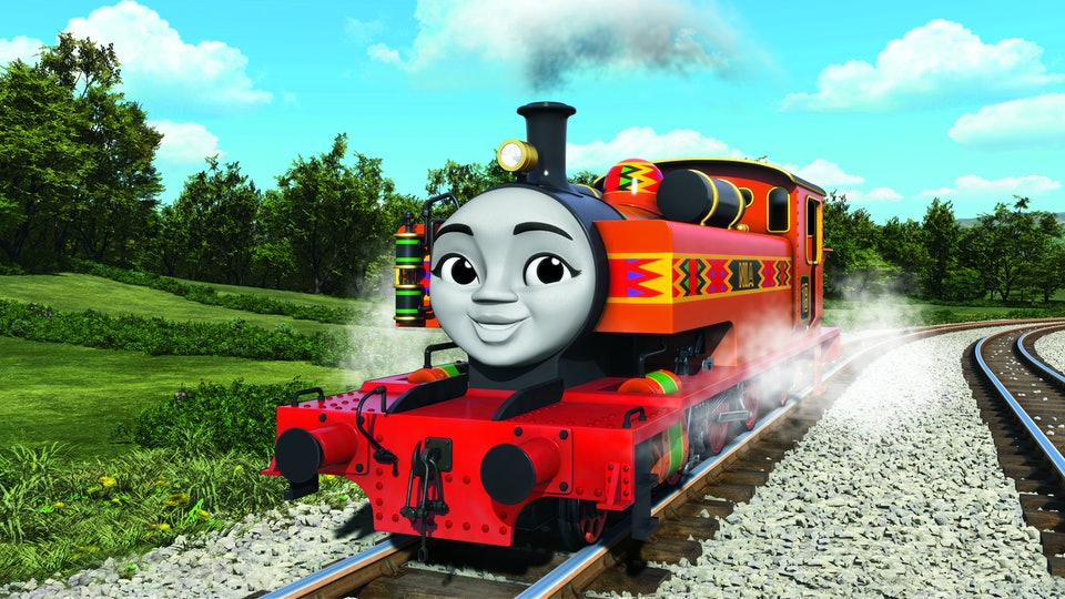 here is why the new female african character on thomas friends