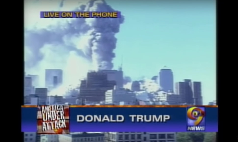 trump once bragged on 9 11 that he now owned the tallest building