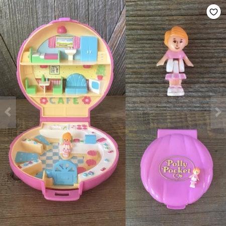 Vintage Polly Pocket Set