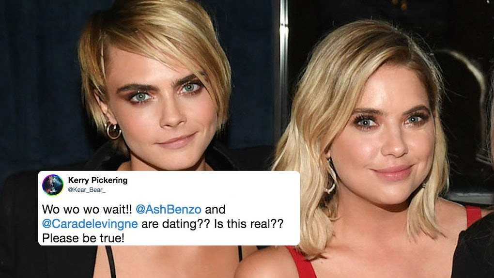 Ashley Benson S Comment On Cara Delevingne S Instagram May Confirm
