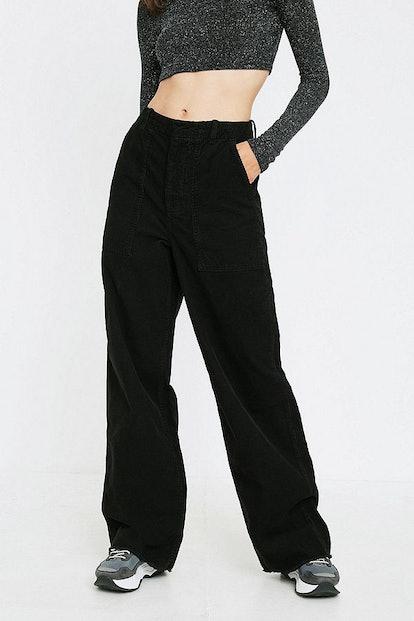 UO Corduroy Workwear Puddle Pant