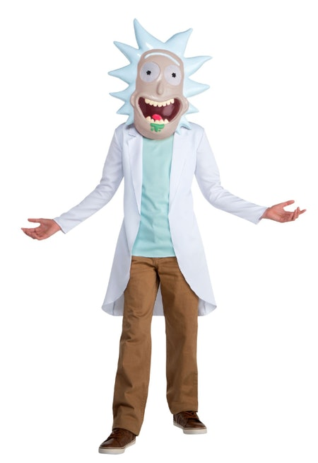 Rick And Morty Rick Costume For Kids