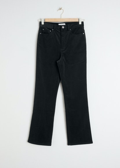 Kick Flare Corduroy Trousers
