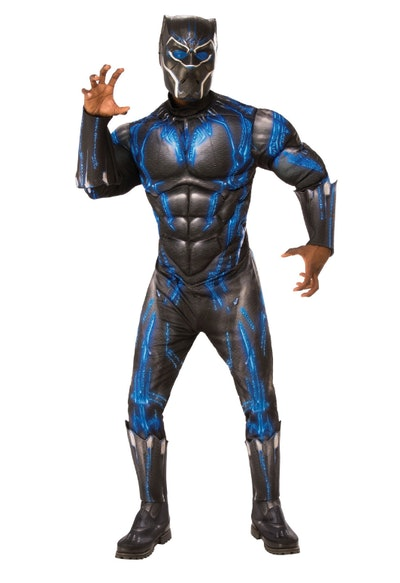 Black Panther Blue Deluxe Adult Costume