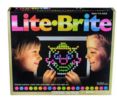 Lite Brite - Magic Screen Retro Style