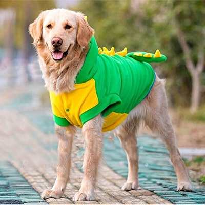 Bolbove Large Dog Dinosaur Costume