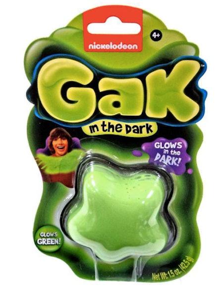 Nickelodeon Gak Glow in the Dark