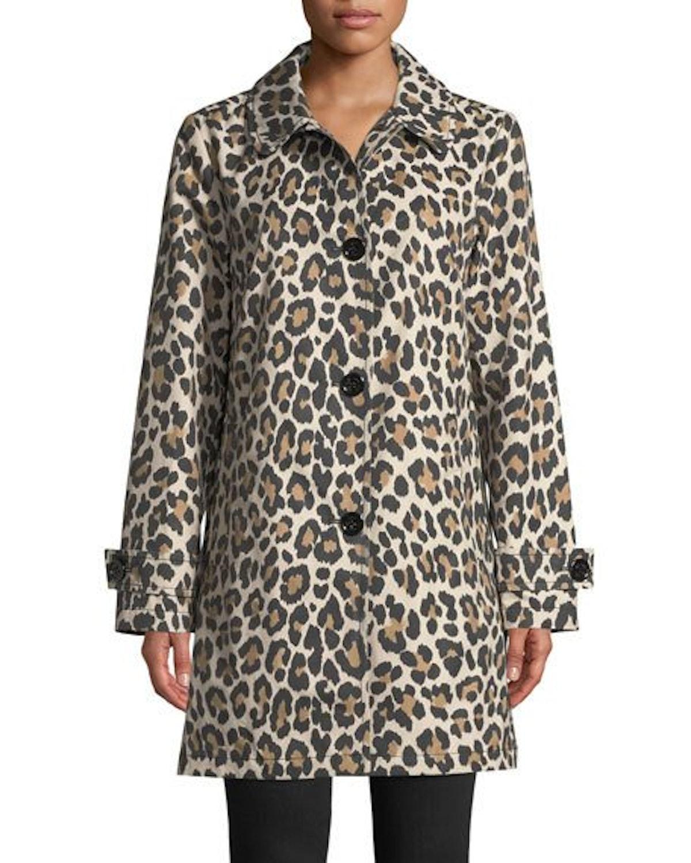 Leopard Print Transitional Jacket