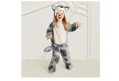 Plush Wolf Halloween Costume