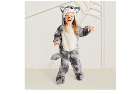 Plush Wolf Halloween Costume