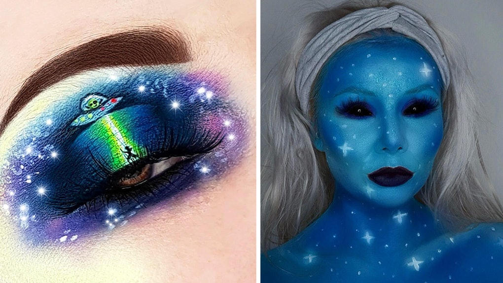 511f7686548 These Halloween 2018 Alien Makeup Looks Will Make Your Costume Seem Out Of  This World