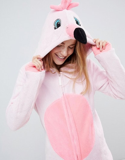 Loungeable Flamingo Pink 3D Onesie