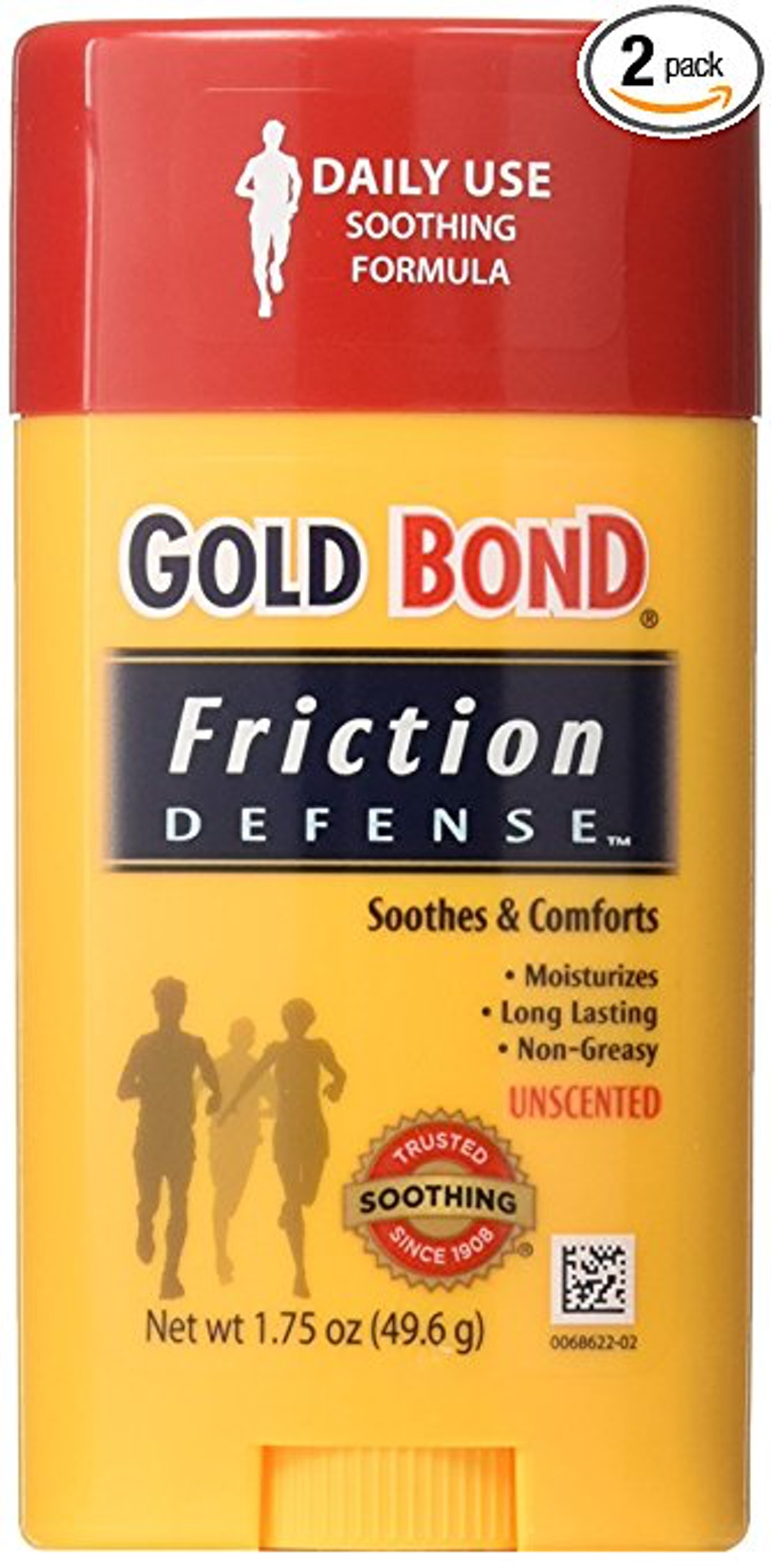 Gold Bond Friction Defense Stick (Pack of Two)