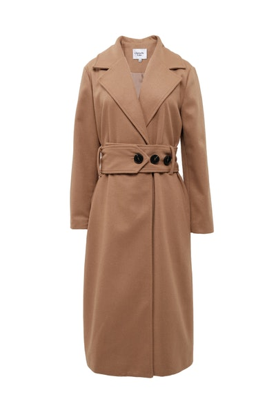 Chriselle Lim Collection Victoria Belted Coat