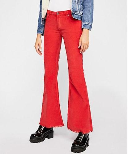 Vintage Cord Flare Pants