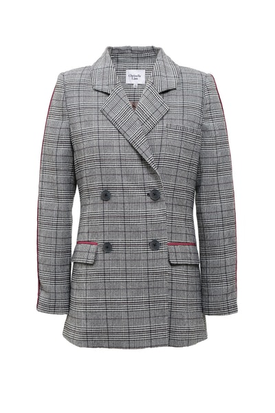 Chriselle Lim Collection Piped Blazer