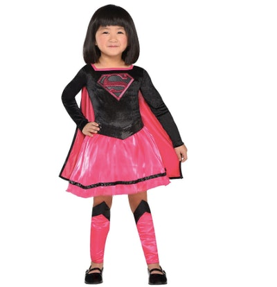 Toddler Pink Supergirl Dress Costume