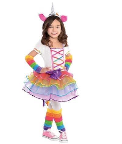 Rainbow Unicorn Costume