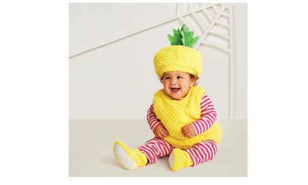 Plush Pineapple Vest Halloween Costume