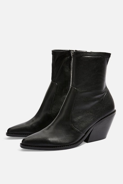 MISSION Leather Western Boots