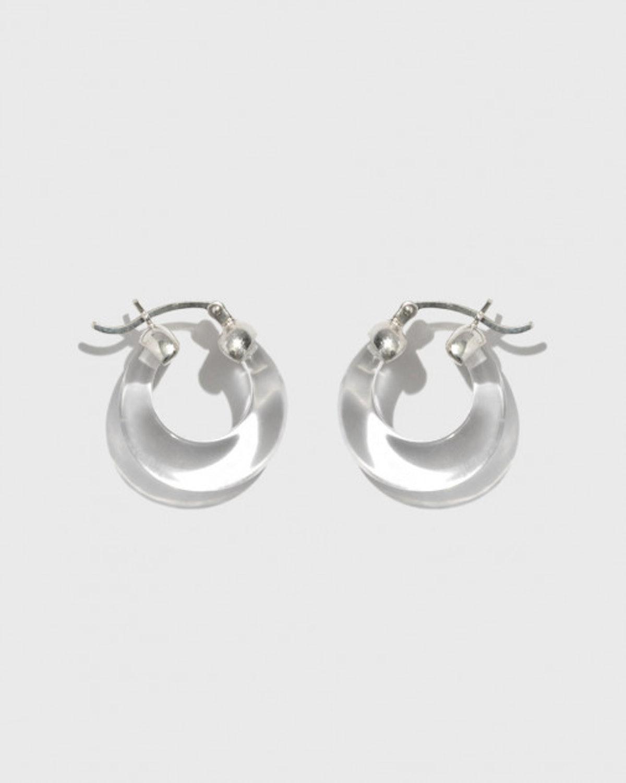Glacé Hoop Earrings