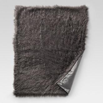 Project 62 Mongolian Faux Fur Throw Blanket