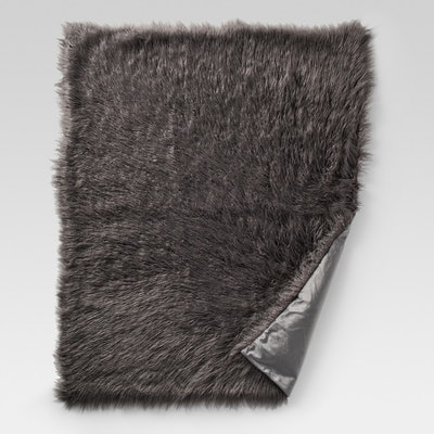 Project 62 Mongolian Faux Fur Throw Blanket