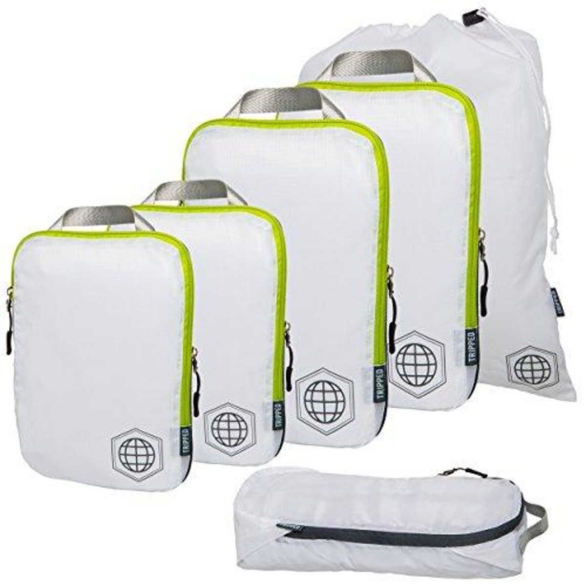 TRIPPED Travel Gear Compression Travel Bags (Set of 6)
