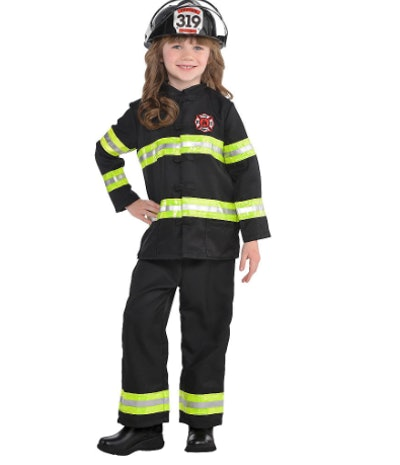Reflective Firefighter Costume