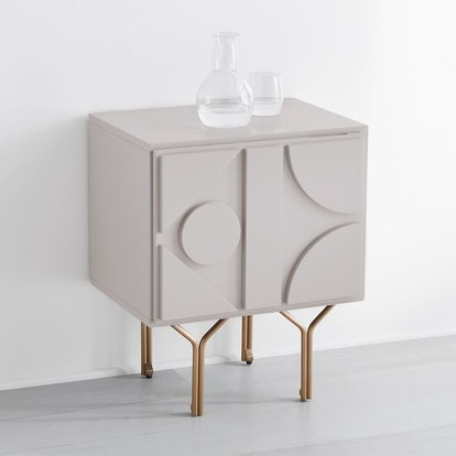 Pictograph Nightstand - Flax