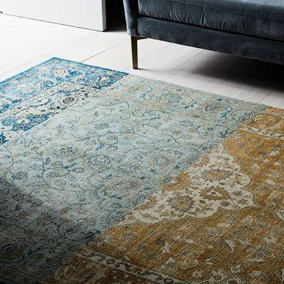Colorblock Persian-Style Rug