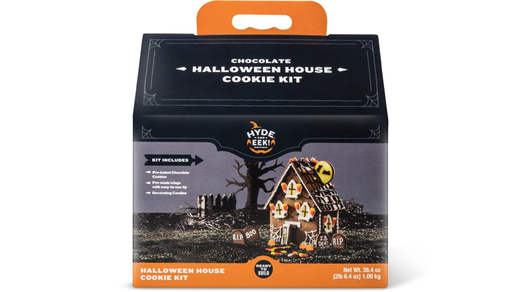 Target S Halloween House Cookie Kit Gives Gingerbread Houses A